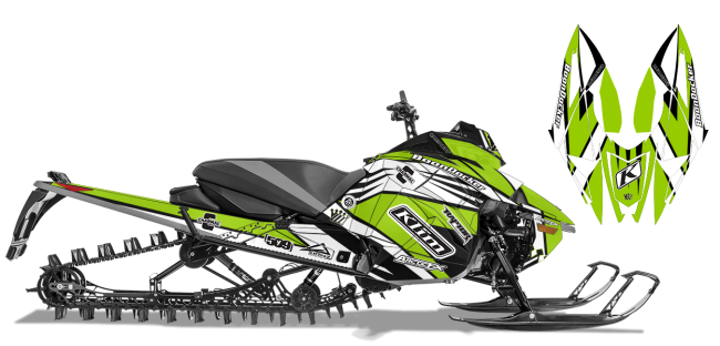 Keith-curtis Arctic Cat next-gen-ascender curtis mountain king Sled Wrap Design