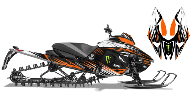 Paul-thacker Arctic Cat next-gen-ascender thacker kryptonite Sled Wrap Design