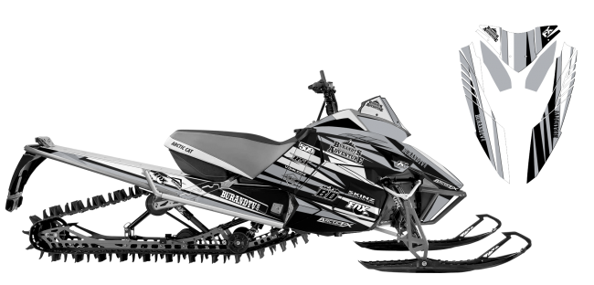 Chris-burandt Arctic Cat Procross-Proclimb burandt signature 2015 Sled Wrap Design