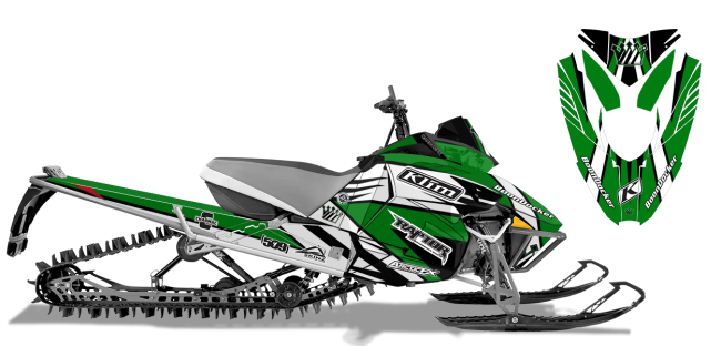 Keith-curtis Arctic Cat procross-proclimb curtis mountain king Sled Wrap Design