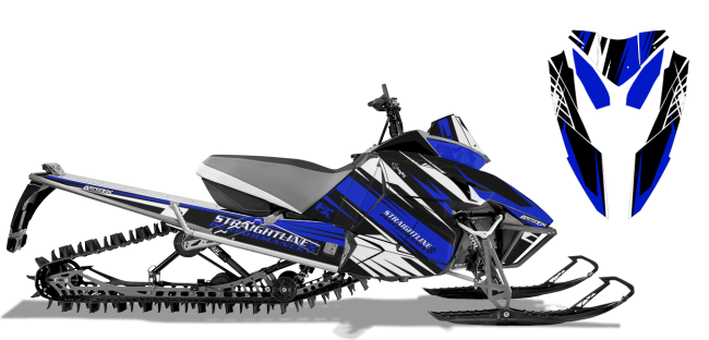 Straightline Arctic Cat Procross-Proclimb Straightline Linear Wrap Design