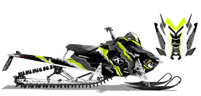 Dan-adams Polaris axys-rmk adams alpine Sled Wrap Design