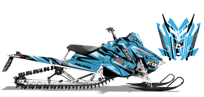 Chris-burandt Polaris AXYS-RMK burandt evolution Sled Wrap Design