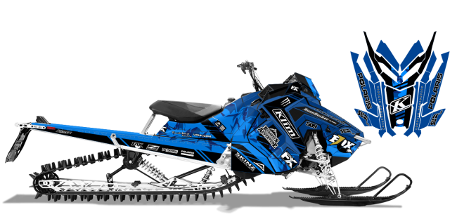 Chris-burandt Polaris AXYS-RMK burandt vista Sled Wrap Design