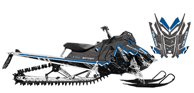 Matt-entz Polaris AXYS-RMK entz signature 2016 Sled Wrap Design