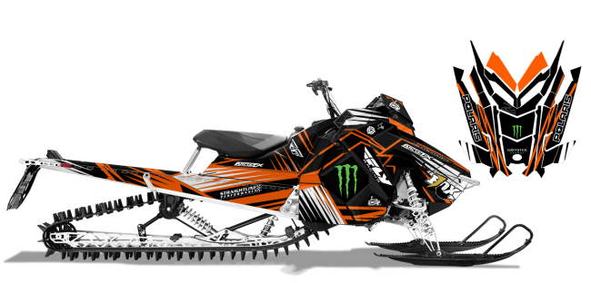 Paul-thacker Polaris axys-rmk thacker kryptonite Sled Wrap Design
