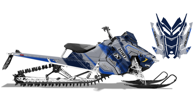 Cole-willford Polaris axys-rmk willford 2five2 Sled Wrap Design