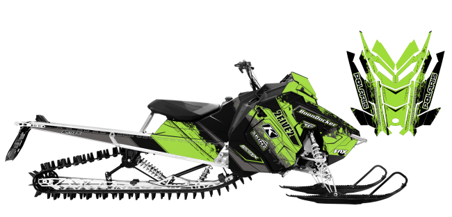 Cole-willford Polaris AXYS-RMK willford signature 2016 Sled Wrap Design