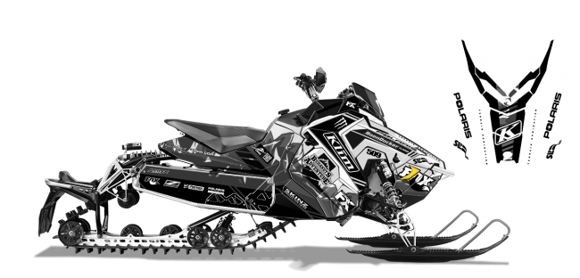 Chris-burandt Polaris axys-rush-switchback burandt vista Sled Wrap Design
