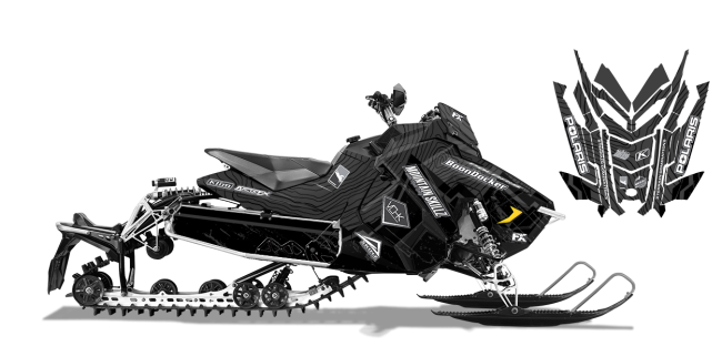 Matt-entz Polaris axys-rush-switchback entz frontier Sled Wrap Design