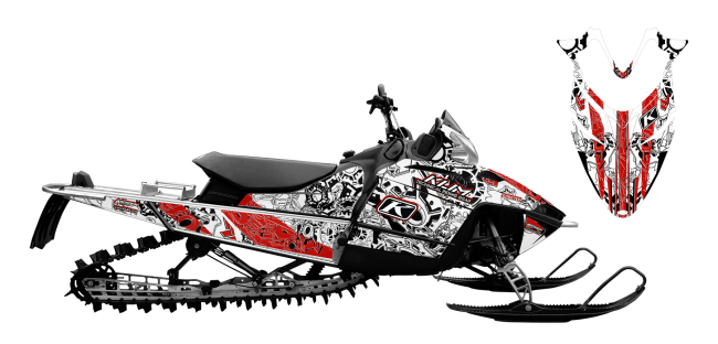 graphic kits and wraps for iqrmk