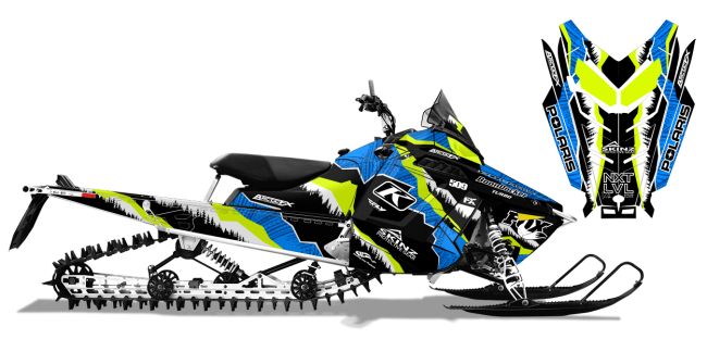Dan-adams Polaris proride-rmk adams alpine Sled Wrap Design