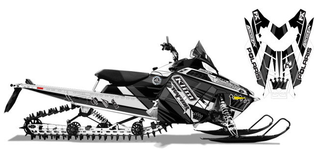 Keith-curtis Polaris proride-rmk curtis mountain king Sled Wrap Design