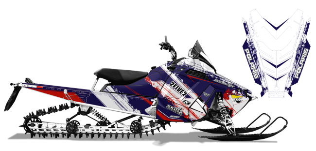 Cole-willford Polaris proride-rmk willford 2five2 Sled Wrap Design