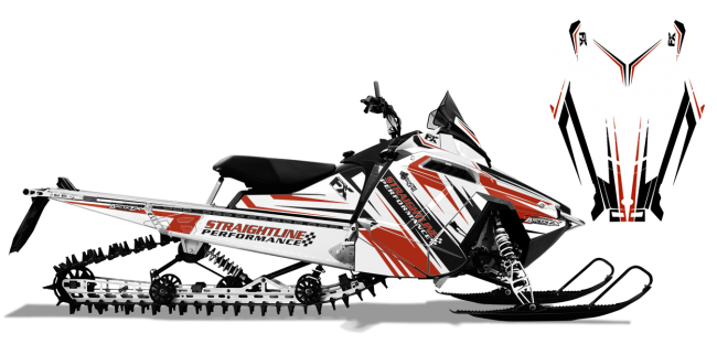 Straightline Polaris Rush-RMK Straightline Linear Wrap Design