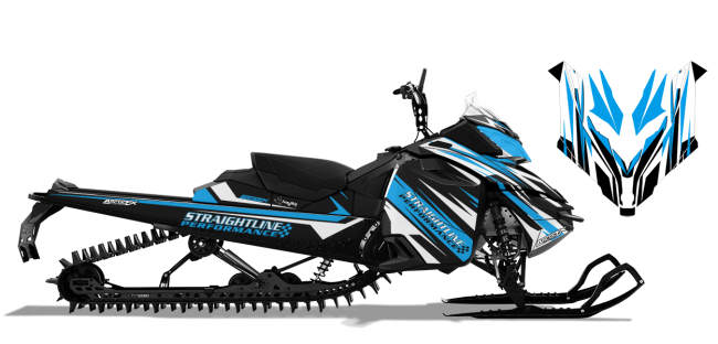 Straightline Skidoo XM-XS Straightline Linear Wrap Design