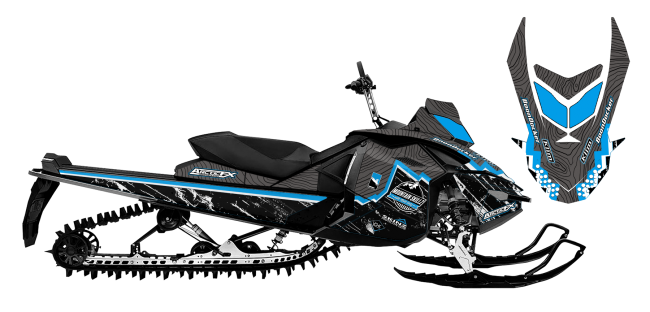 Matt-entz Skidoo xp entz signature 2016 Sled Wrap Design