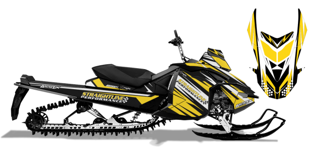 Straightline Skidoo XP Straightline Linear Wrap Design