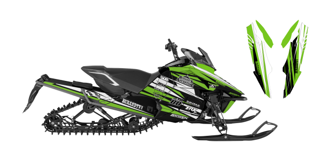 Chris-burandt Yamaha Viper burandt signature 2015 Sled Wrap Design